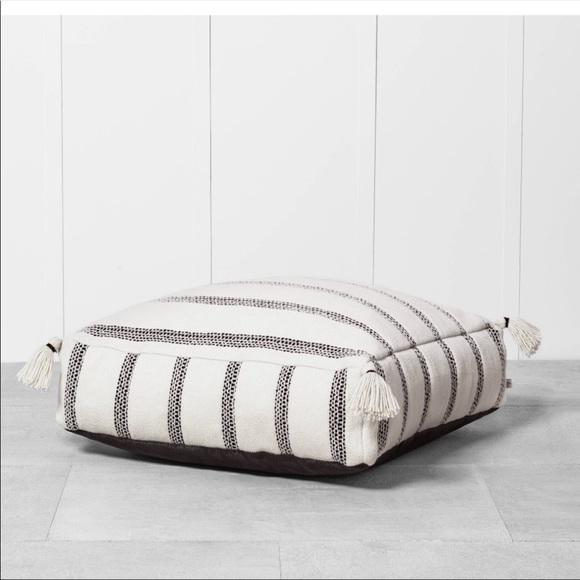 Hearth & Hand Indoor/Outdoor Floor Pillow Cushion